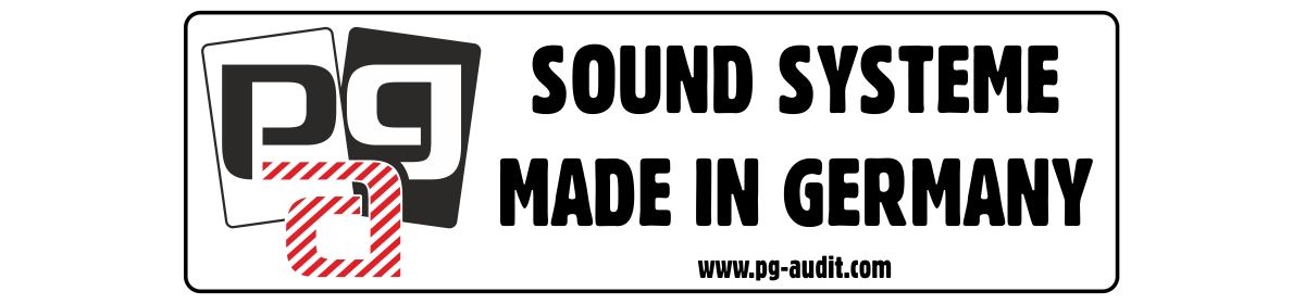 PG-Audit Audio - Sound Systeme Made in Germany
